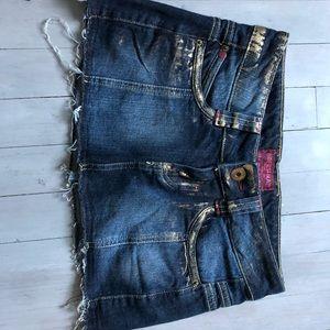 Bershka Jean Skirt